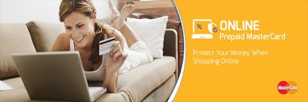 Online Prepaid MasterCard