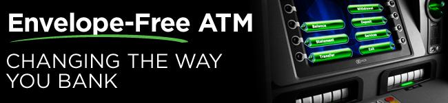 Envelope Free ATM
